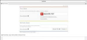 установить AnyDesk на Fedora
