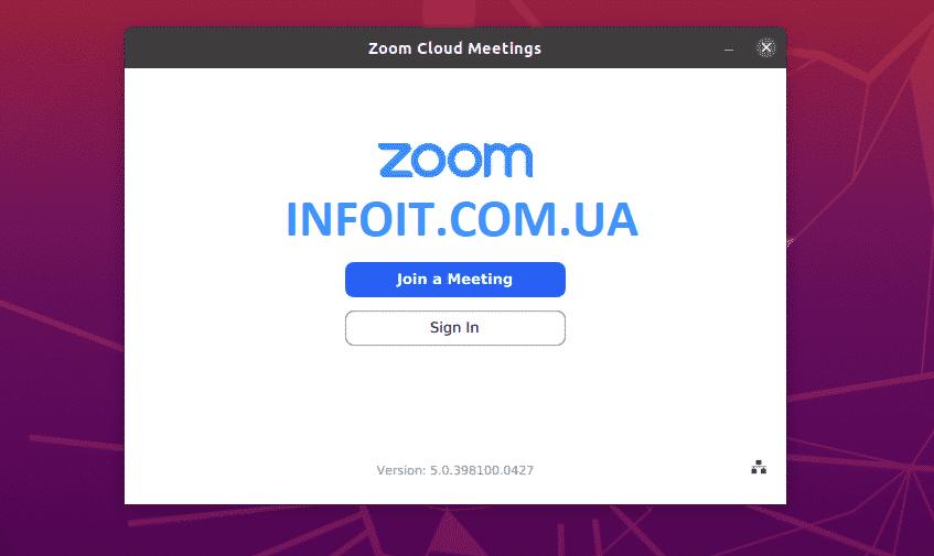 Как установить Zoom Client в Ubuntu 20.04 | 18.04
