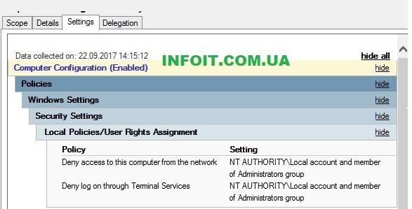 Защита административных учетных записей в сети Windows