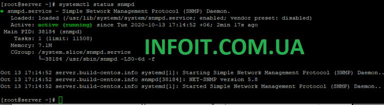Установка и настройка SNMP в CentOS