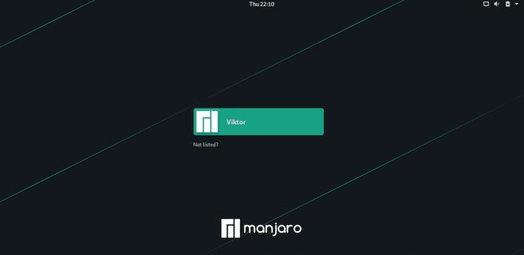 Как установить рабочий стол GNOME на Manjaro 20