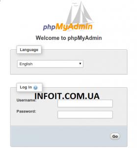 Как установить phpMyAdmin на