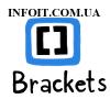 Как установить Brackets Code Editor в