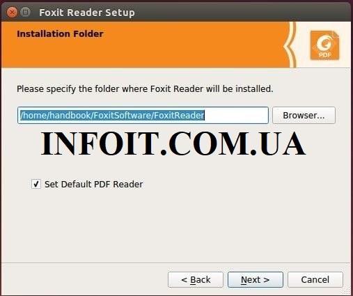 Как установить Foxit Reader на Ubuntu 20.04 LTS