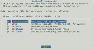 Как установить и настроить iRedMail в Rocky Linux 8 10