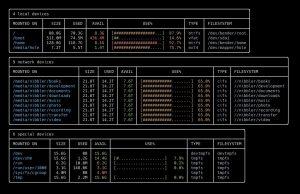 Как установить дисковую утилиту Duf на Debian 11