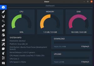 Как установить Stacer в Ubuntu 20.04 LTS 1