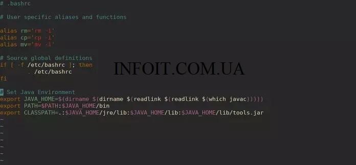 Как установить JAVA_HOME на CentOS / RHEL / Fedora