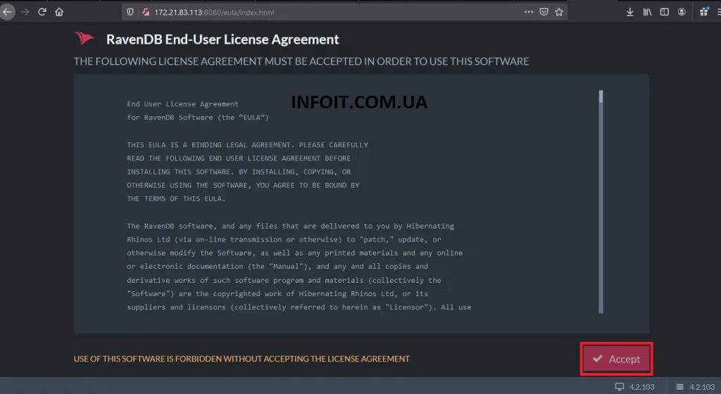 Как установить базу данных RavenDB NoSQL в Ubuntu 20.04