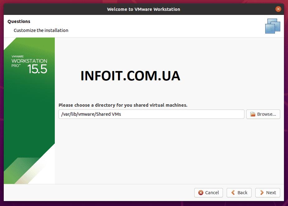 Как установить VMware Workstation Pro в Ubuntu 20.04 | 18.04